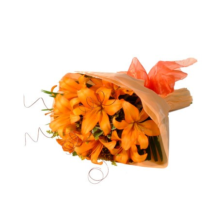 Bunch of Orange Lilies