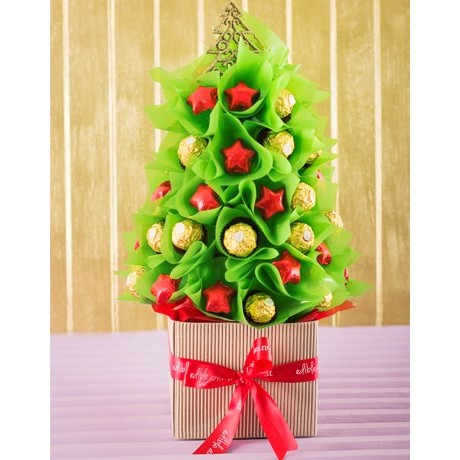 Edible Christmas Tree Chocolate Xmas Tree Inmotion Flowers