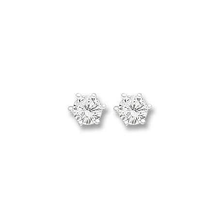 Miss Silver Earrings - Studs