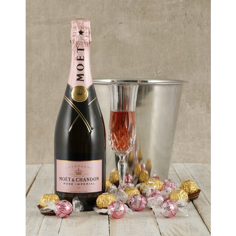 Moët & Chandon, Ice Bucket and Chocolate Hamper