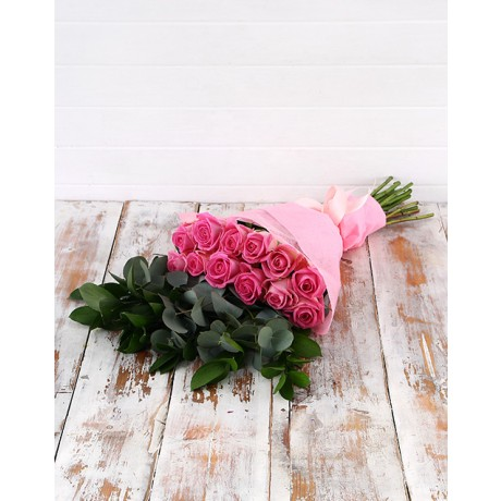 Mothers Day Pink Rose Bouquet