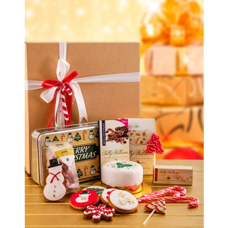 Biscuits, Sweets, Nougat & Cake Hamper
