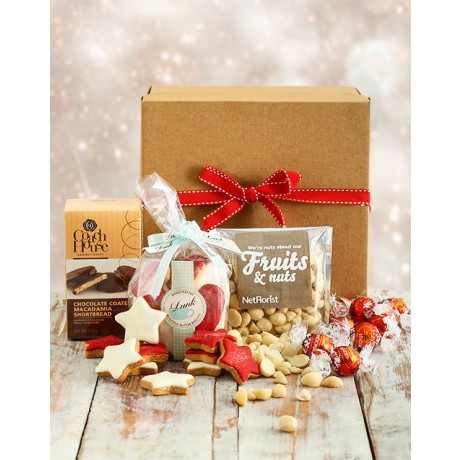 Santas Snack Box Christmas Hamper