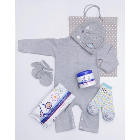 Tatty Teddy Babygrow, beanie, mittens & sock gift