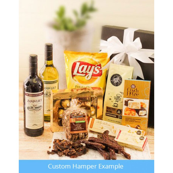 Thank You Gift Ideas South Africa : Custom Hampers to South Africa inMotion Flowers