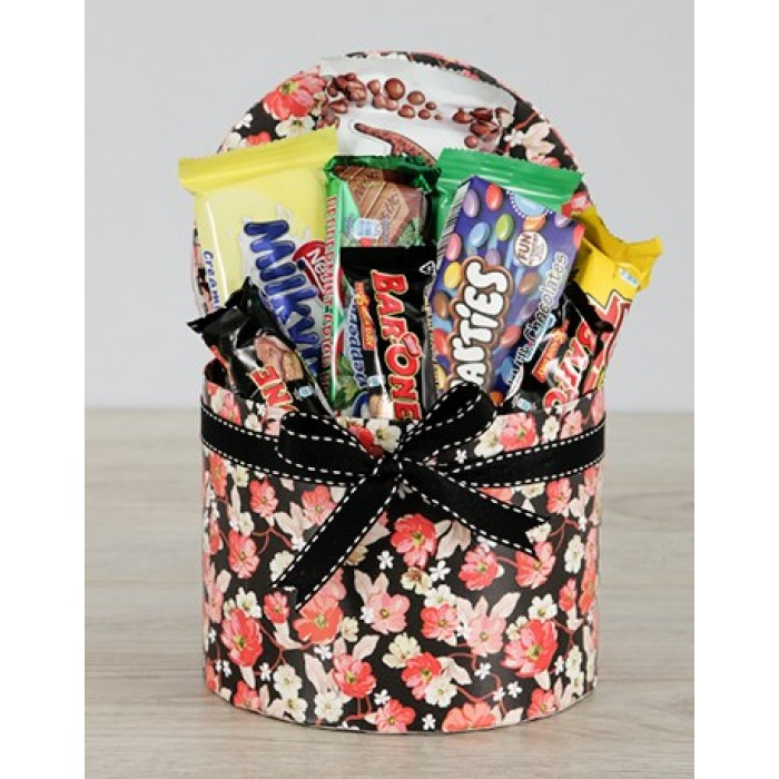 Chocolate Gift Boxes South Africa : Hat box of nestle chocolates south africa inmotion flowers
