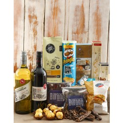 Gourmet Wine, Chocs & Snack Hamper