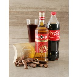 Klippies Coke and Biltong Hamper