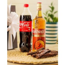 Klippies Coke and Biltong Hamper