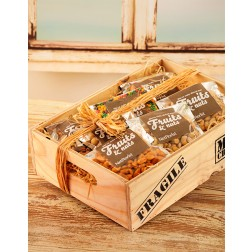 Man Crates Nut Hamper