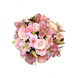 Bouquet of Pastel Pink Flowers