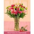 Custom Flowers in a Vase
