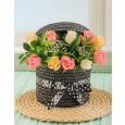 Pastel Rose Hat Box