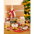 Christmas Hamper: Christmas Cake, Biscuits, Chocolate & Nougat