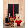 Teddy with Pongrácz & Champagne Truffles