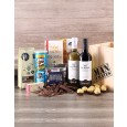 Gourmet Wine, Chocs & Nuts Man Crate