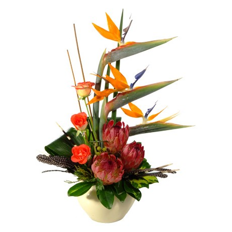 Modern Ethnic African Flower Arrangement