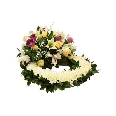 Circular Funeral Wreath