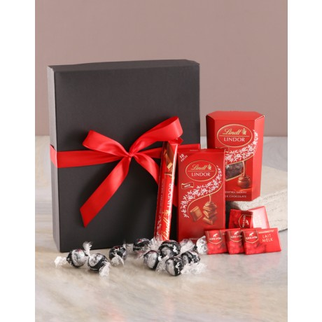 Valentines Lindt Chocolate Box