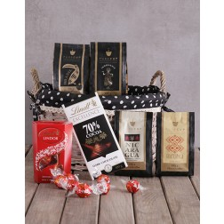 Coffee and Lindt Chocolate Hamper