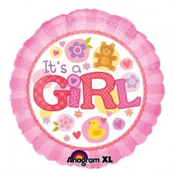 It's a Girl Balloon  (JHB, PTA, CPT, DBN ONLY)