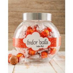 Lindt Ball Candy Jar