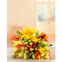Mixed Lily Bouquet Special