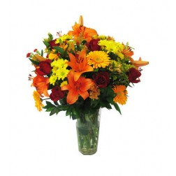 Mothers Day Flowers: Oranges & Lemons