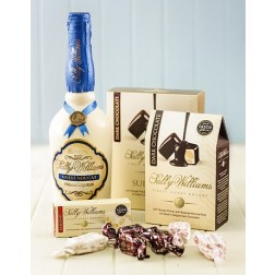Mothers Day Gifts: Sally Williams Nougat & Cream Liqueur Gift Hamper