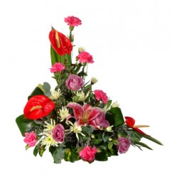 Traditional Upright Flower Arrangement