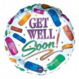 Get Well Soon Balloon  (JHB, PTA, CPT, DBN ONLY)