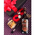 Chocolate Liqueur, Body Paint & Handcuffs for Valentine's Day