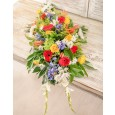 Funeral Spray of Mixed Flowers