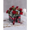 Christmas Red Rose Gift Box