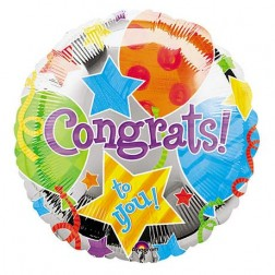 Congratulations Balloon  (JHB, PTA, CPT, DBN ONLY)